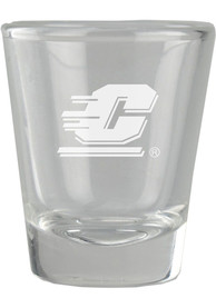 Central Michigan Chippewas 2oz Etched Shot Glass