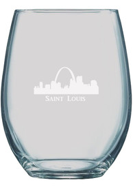 St Louis 21oz Engraved Stemless Wine Glass
