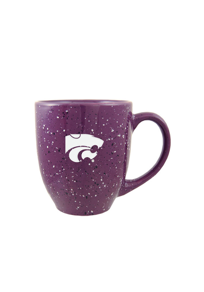 K-State Wildcats Purple 16oz Speckled Mug - Image 1