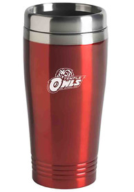 Temple Owls 16oz Stainless Steel Red Travel Mug