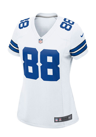 Dez Bryant Womens Dallas Cowboys Game Football Jersey - White
