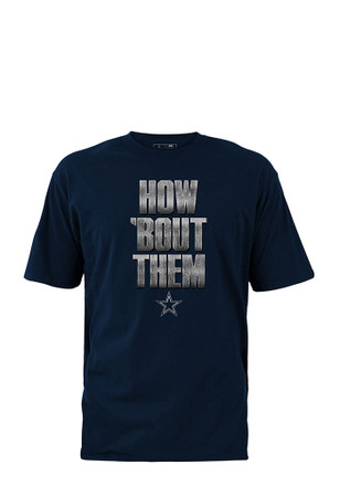 Dallas Cowboys Kids Navy Blue How Bout T-Shirt