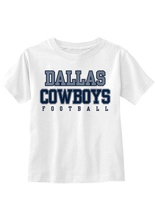 Dallas Cowboys Grey Practice Short Sleeve T-Shirt