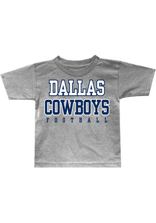 Cowboys Toddler Grey Logo T-Shirt