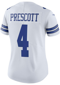 Womens Dak Prescott Dallas Cowboys Dallas Cowboys Apparel Home Football Jersey - White