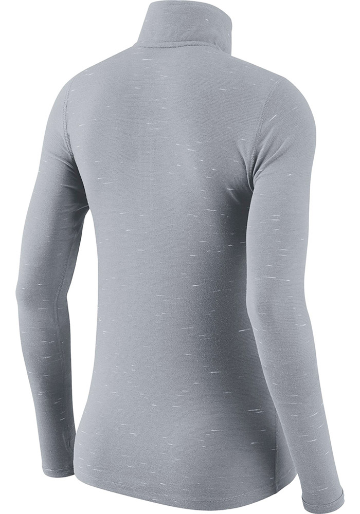 Nike Cowboys Womens Grey Element 1/4 Zip Pullover - Image 2