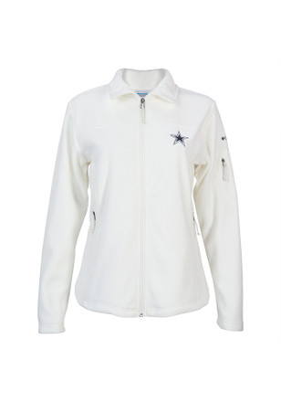 Dallas Cowboys Womens Grey Give and Go Full Zip Jacket