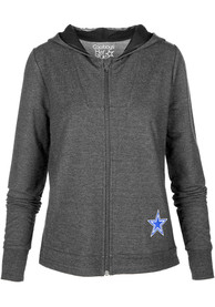 Dallas Cowboys Womens Charisse Shock Full Zip Jacket - Charcoal