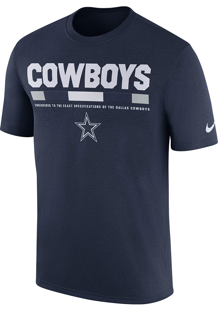 Dallas Cowboys Navy Blue Staff Legend Tee b8773a6f0