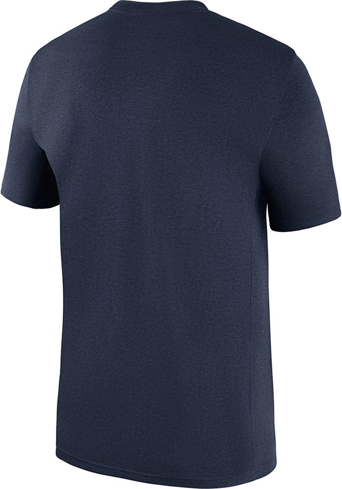 Dallas Cowboys Navy Blue Icon Legend Short Sleeve T Shirt - Image 2