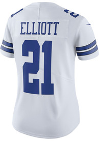 Womens Ezekiel Elliott Dallas Cowboys Dallas Cowboys Apparel Home Football Jersey - Navy Blue