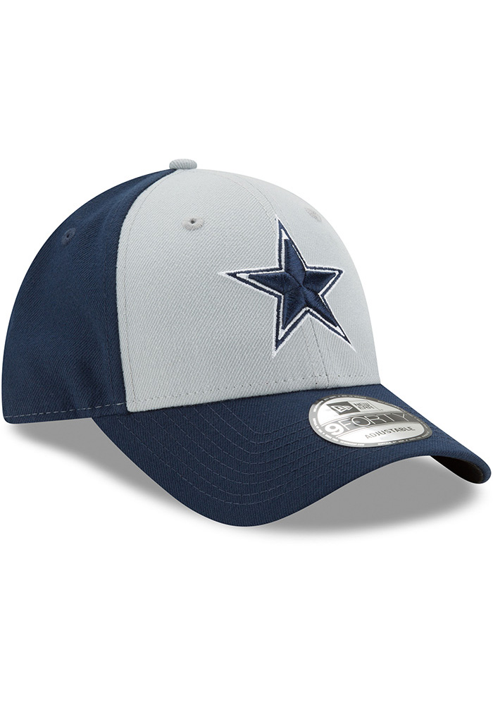 Dallas Cowboys The League Blocked 9FORTY Adjustable Hat - Navy Blue - Image 2