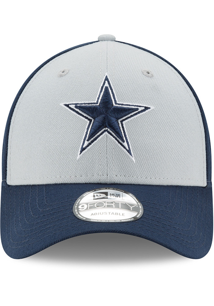 Dallas Cowboys The League Blocked 9FORTY Adjustable Hat - Navy Blue - Image 3