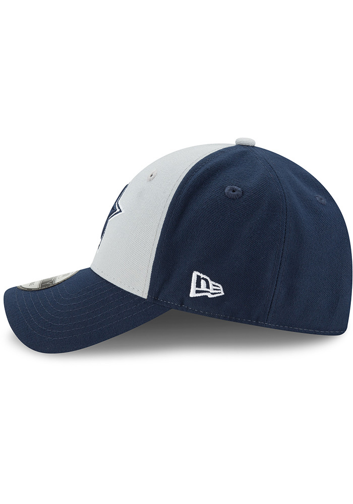 Dallas Cowboys The League Blocked 9FORTY Adjustable Hat - Navy Blue - Image 4