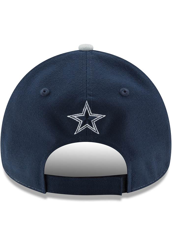 Dallas Cowboys The League Blocked 9FORTY Adjustable Hat - Navy Blue - Image 5