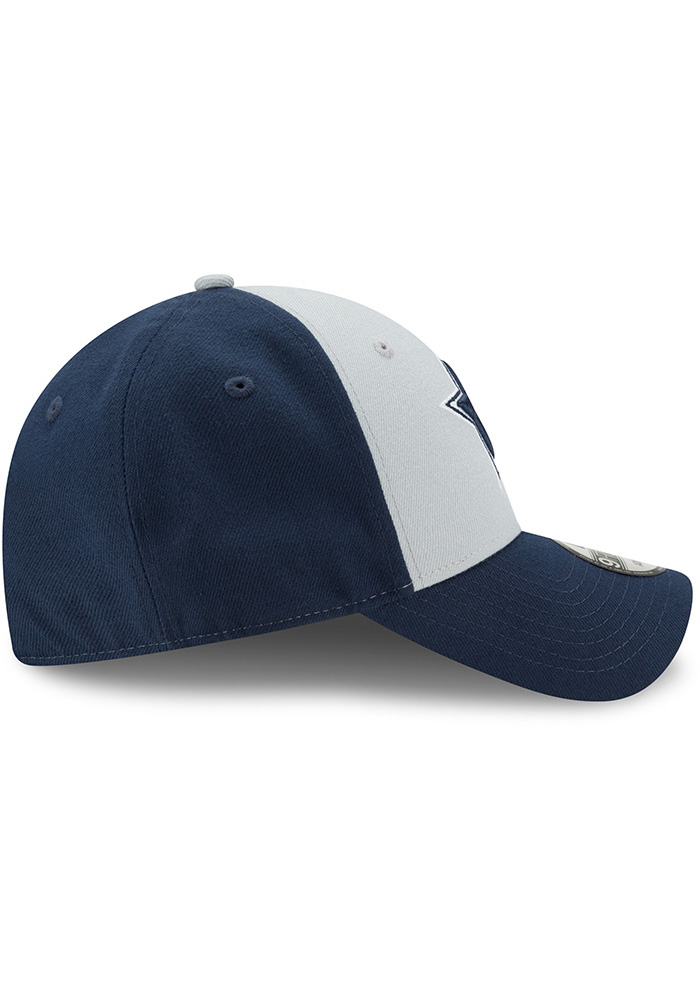 Dallas Cowboys The League Blocked 9FORTY Adjustable Hat - Navy Blue - Image 6