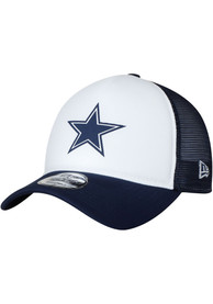 Dallas Cowboys Trucker Hit 9FORTY Adjustable Hat - Navy Blue