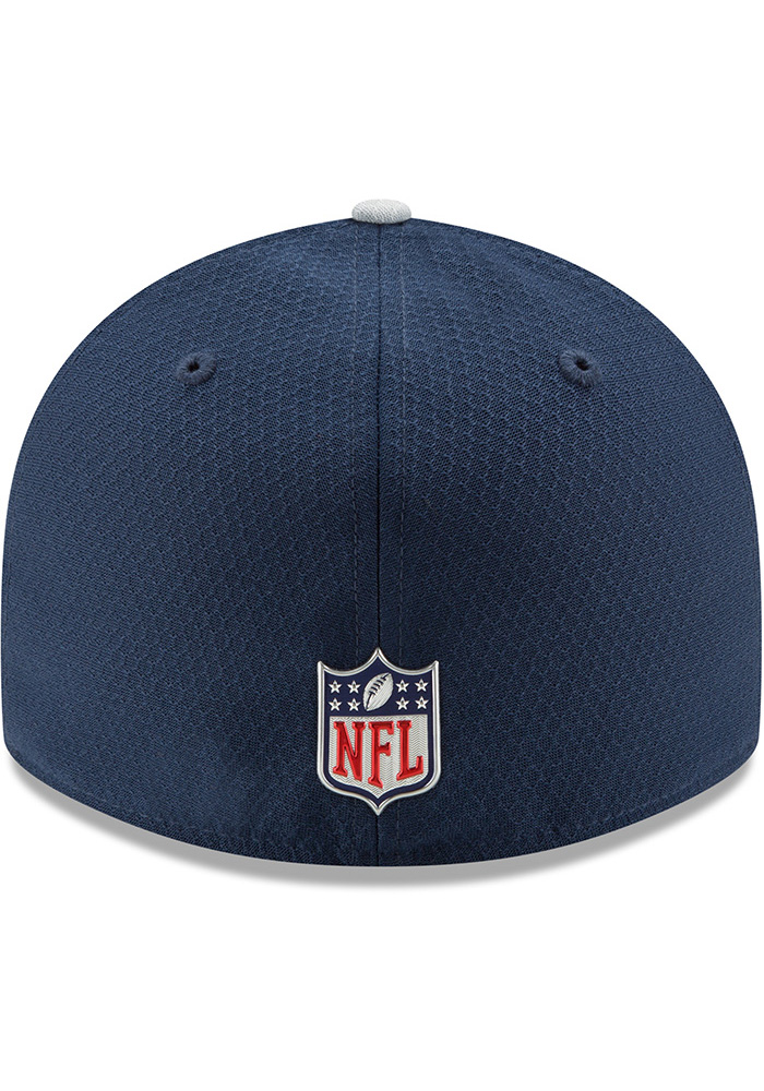 premium selection cheaper good selling Dallas Cowboys Mens Navy Blue 2017 Sideline LP 59FIFTY Fitted Hat ...