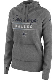 Nike Dallas Cowboys Womens Grey Cold Weather Hoodie