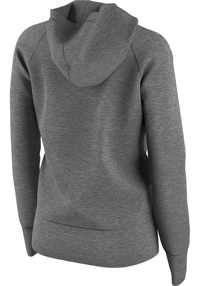 Nike Dallas Cowboys Womens Grey Cold Weather Hooded Sweatshirt - Image 2