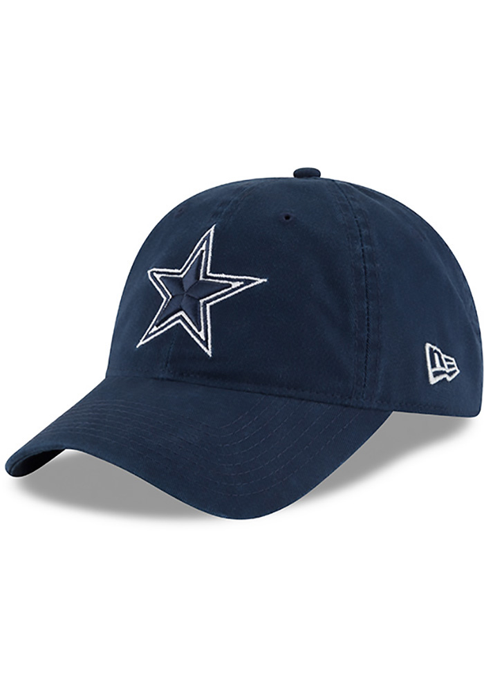 Dallas Cowboys Mens Navy Blue NE Core Fit 49FORTY Fitted Hat - 41021211 16657f494
