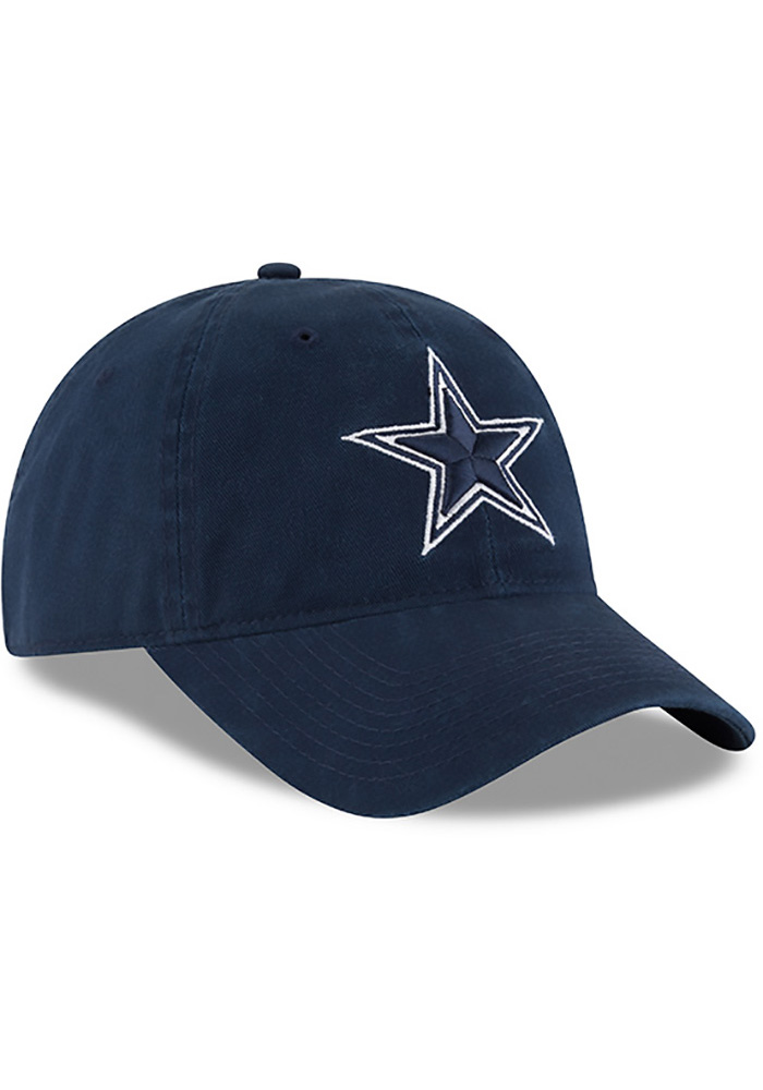 Dallas Cowboys Mens Navy Blue NE Core Fit 49FORTY Fitted Hat - Image 2
