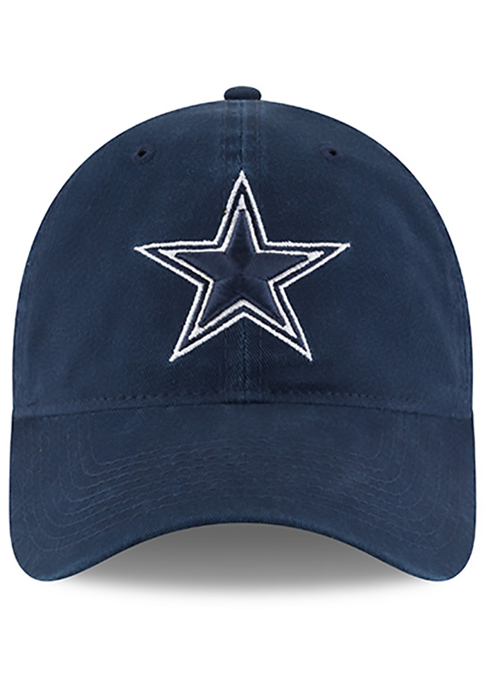Dallas Cowboys Mens Navy Blue NE Core Fit 49FORTY Fitted Hat - Image 3