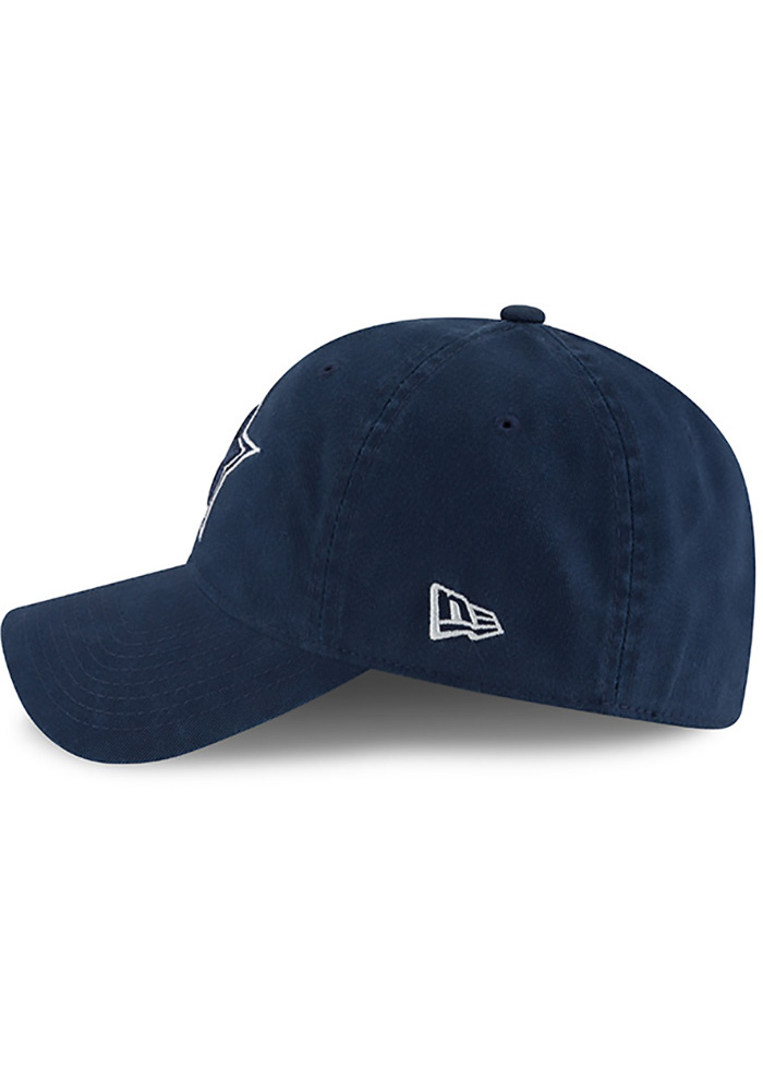 Dallas Cowboys Mens Navy Blue NE Core Fit 49FORTY Fitted Hat - Image 4