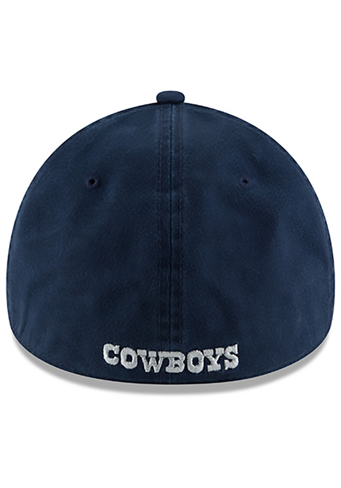Dallas Cowboys Mens Navy Blue NE Core Fit 49FORTY Fitted Hat - Image 5