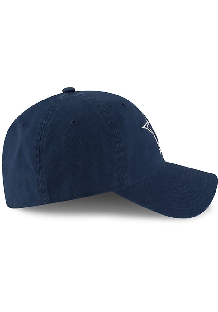 Dallas Cowboys Mens Navy Blue NE Core Fit 49FORTY Fitted Hat - Image 6