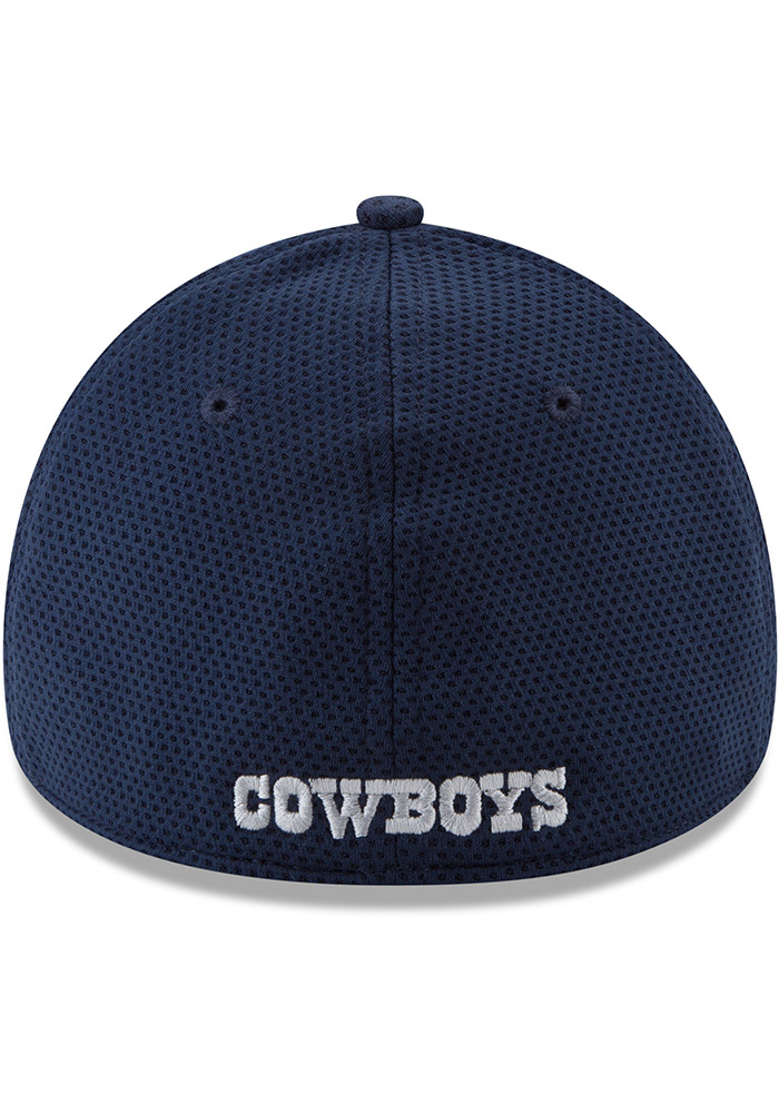 Dallas Cowboys Mens Navy Blue Logo Surge 39THIRTY Flex Hat - Image 5