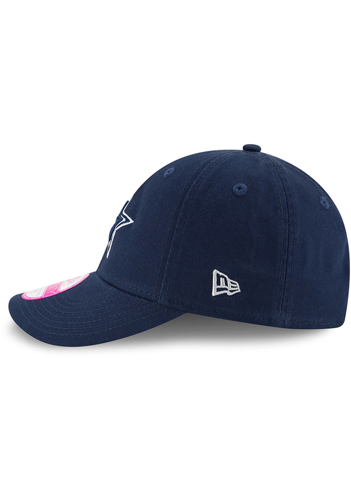 Dallas Cowboys Navy Blue Preferred Pick LS 9TWENTY Womens Adjustable Hat - Image 5