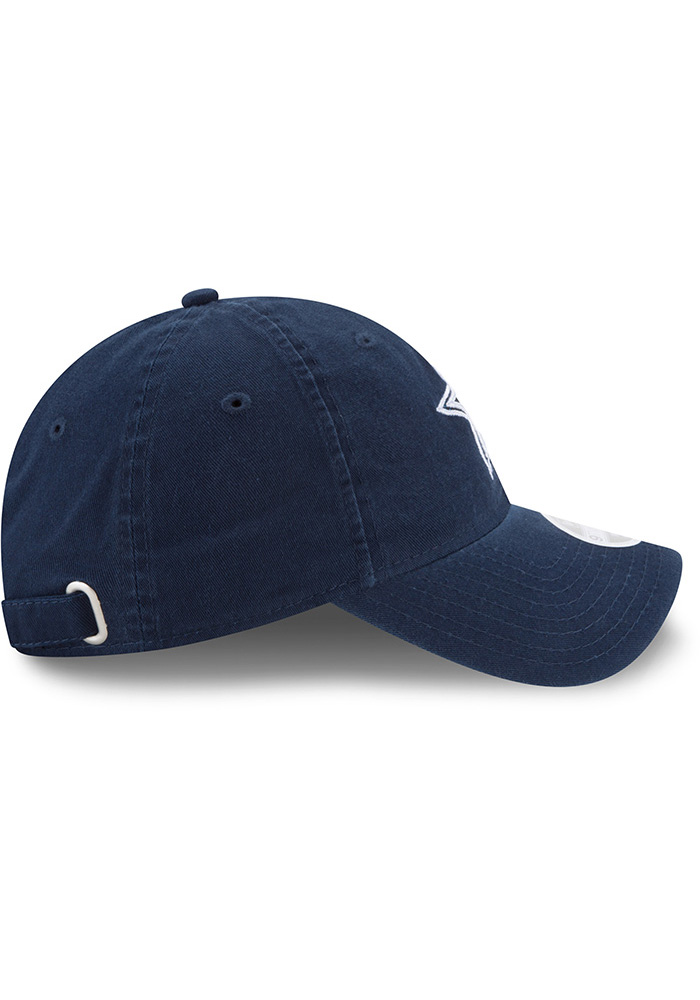 Dallas Cowboys Navy Blue Team Glisten Tonal LS 9TWENTY Womens Adjustable Hat - Image 4