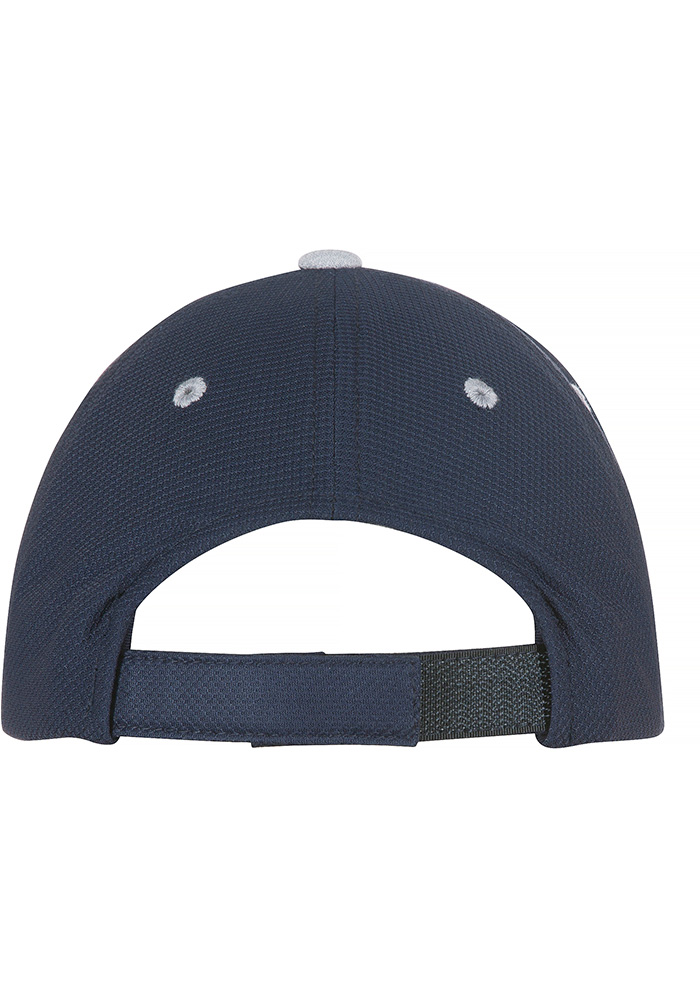Dallas Cowboys Navy Blue Glimer Youth Adjustable Hat - Image 2