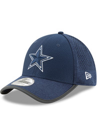 be5a44e8bec217 Dallas Cowboys Hats Navy Blue 2017 JR Training 39THIRTY Youth Flex Hat
