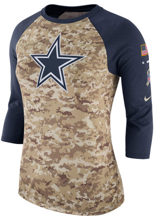 93080f924bf Shop Dallas Cowboys Salute To Service Long Sleeve Apparel