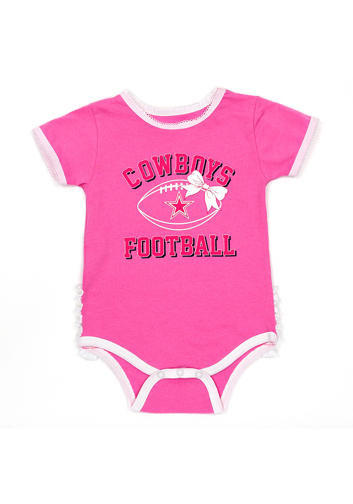 Dallas Cowboys Baby Pink Tutu One Piece 1f0130879