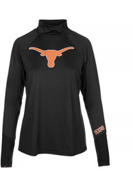 Texas Longhorns Womens Payne Shock 1/4 Zip - Black