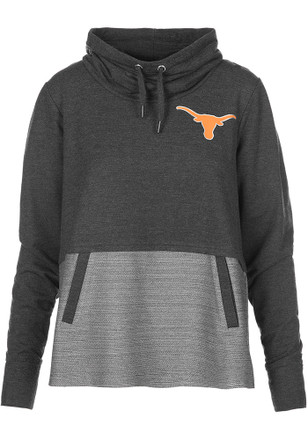 Texas Longhorns Womens Grey Toula Hoodie