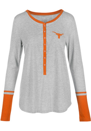 Texas Longhorns Womens Grey Jackie Women's Crew