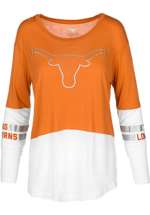 Texas Longhorns Womens Orange Audrey Women's Scoop
