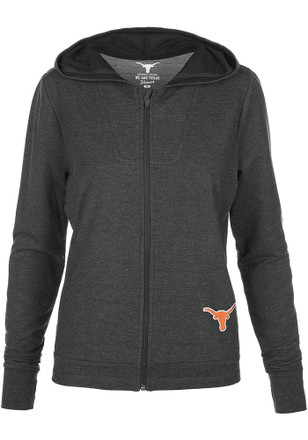 Texas Longhorns Womens Grey Charisse Shock Full Zip Jacket