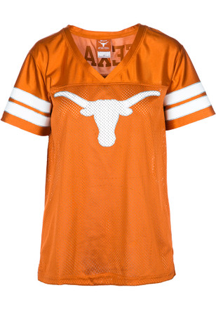 Texas Longhorns Womens Orange Bowie V-Neck