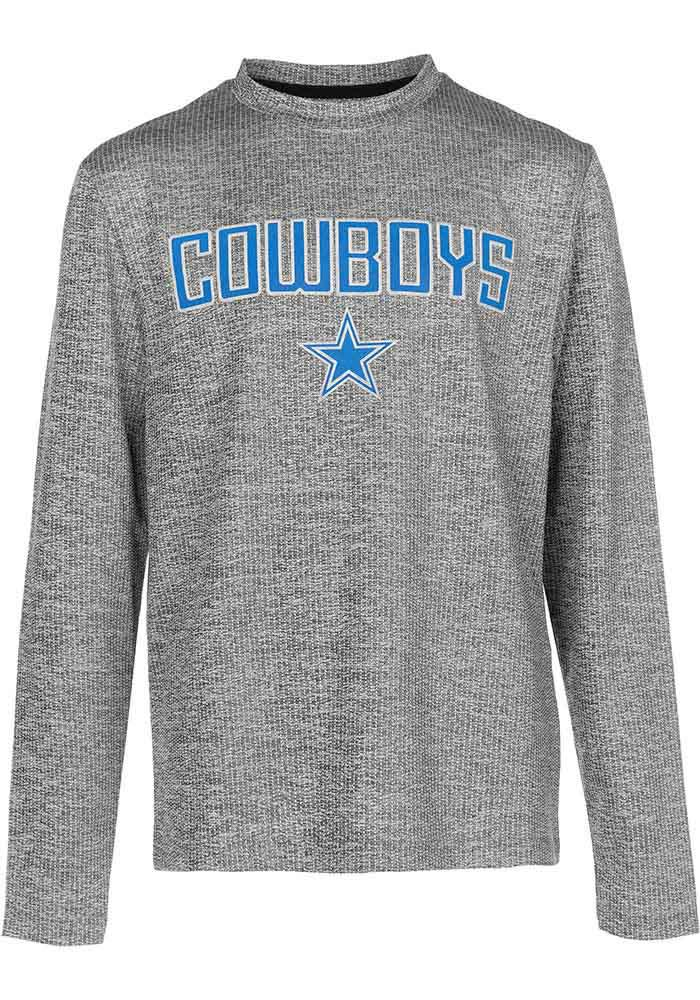 Dallas Cowboys Youth Grey Purlington Long Sleeve T-Shirt - Image 1