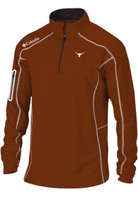 Texas Longhorns Columbia Top Shotgun 1/4 Zip Pullover - Burnt Orange