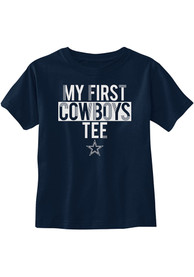 Dallas Cowboys Infant Firstie T-Shirt - Navy Blue