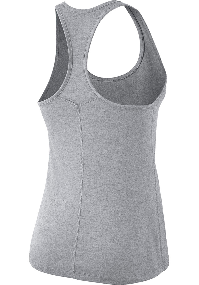 Nike Dallas Cowboys Womens Grey DF Touch Tank Top - Image 2