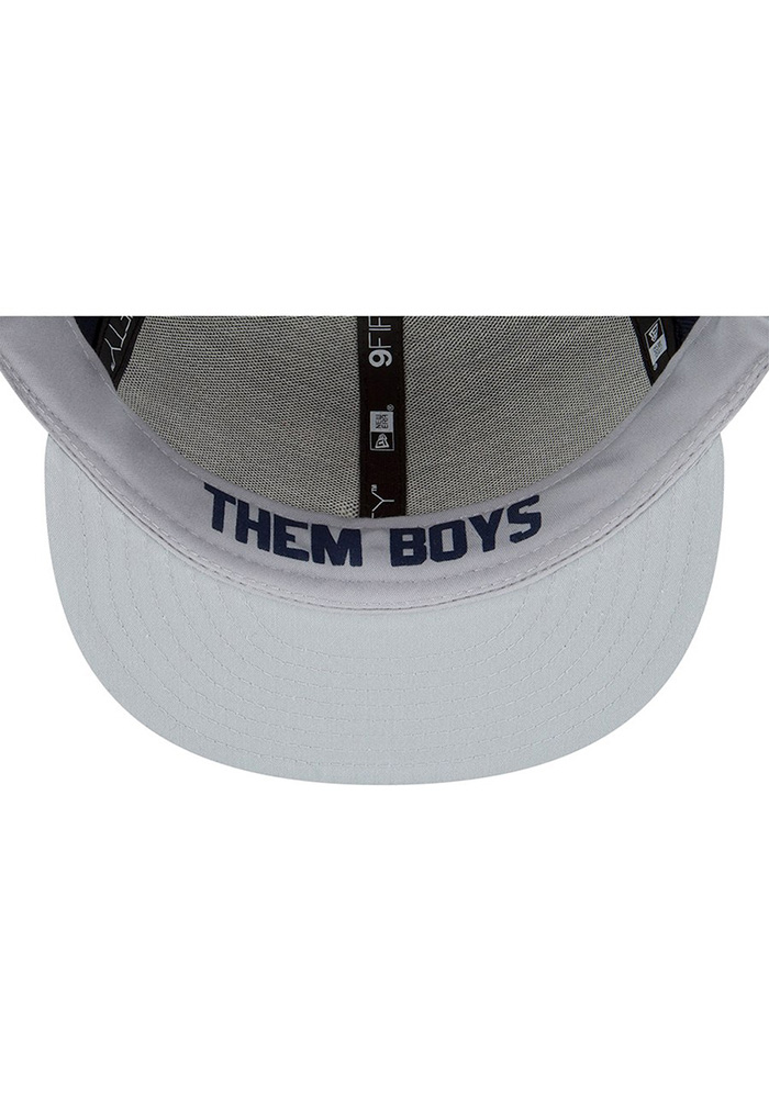 Dallas Cowboys Navy Blue 2018 Spotlight Draft 9FIFTY Youth Snapback Hat - Image 5