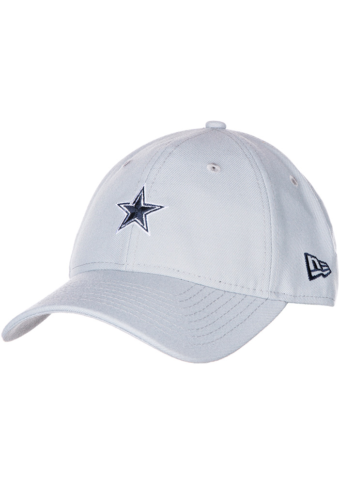 Dallas Cowboys Basic 9TWNETY Adjustable Hat - Grey - Image 1