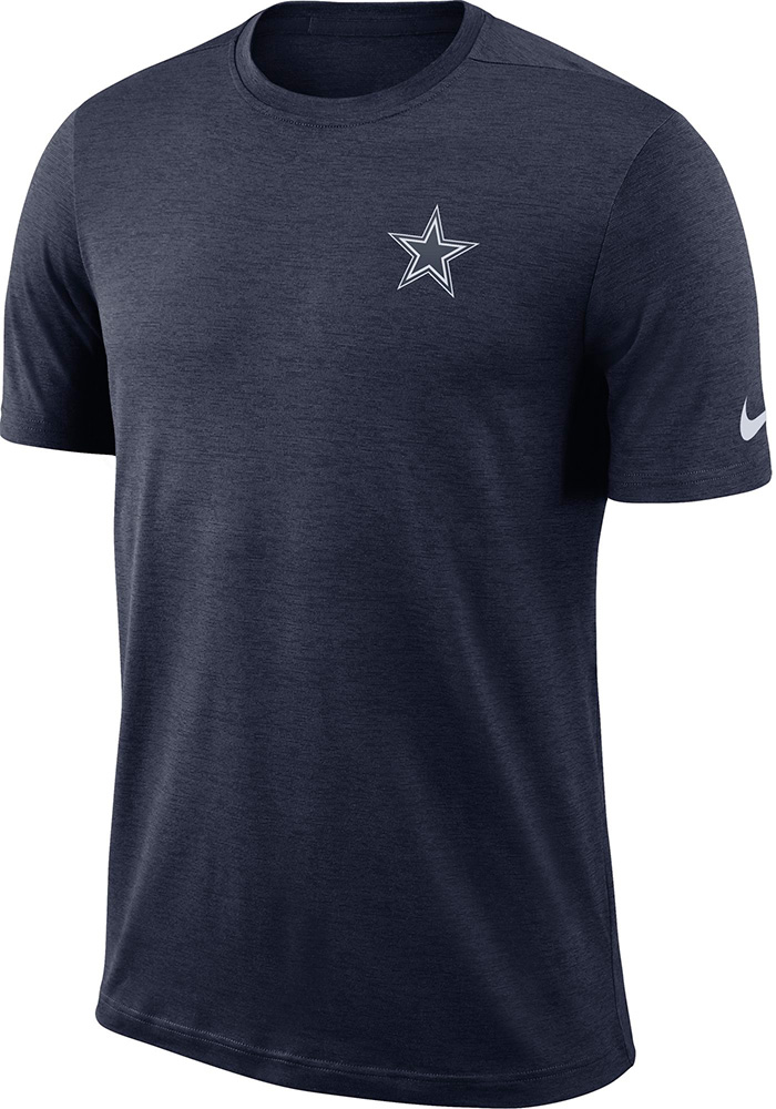 Dallas Cowboys Navy Blue Coaches Tee